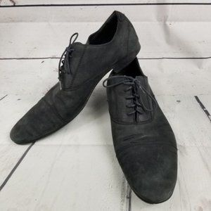 ZARA MAN BASIC lace up black casual shoes mens 11